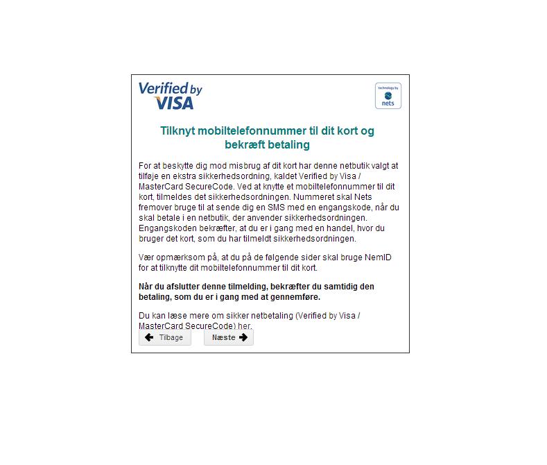FAQ | 3D Secure | Læs om 3D Secure her